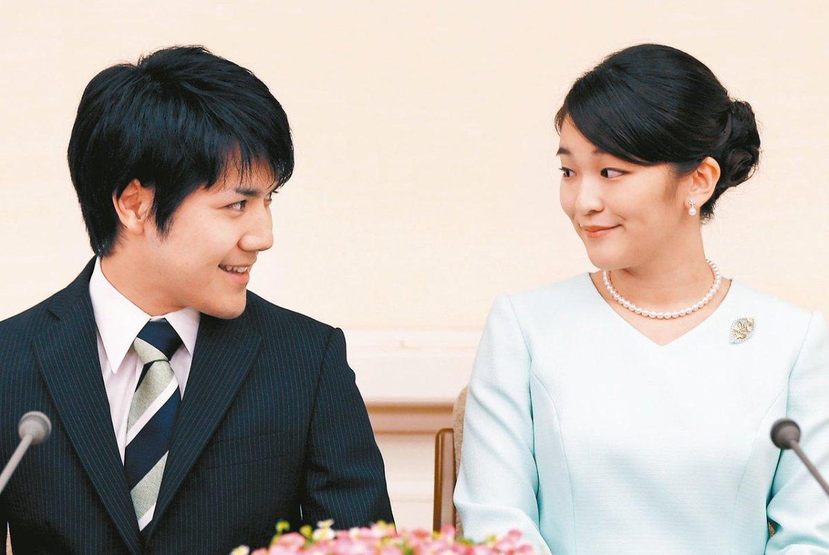 """日本公主大婚 皇室的尴尬 """"1亿元婚姻风暴"""""""
