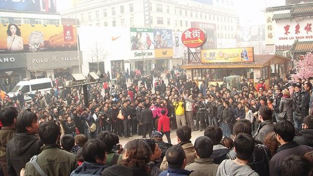 茉莉花革命在中国:一场没发生的革命
