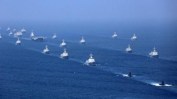 突破第一岛链!中国航母辽宁号战斗群进入太平洋