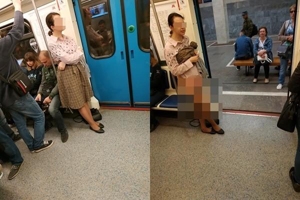 地铁求让座被拒 她撩裙脱内裤怒骂:人家是女生!
