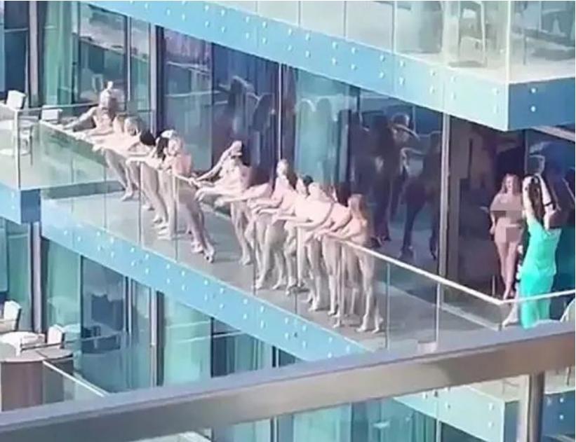 迪拜阳台裸照幕后组织者被曝光:混迹美国政商圈
