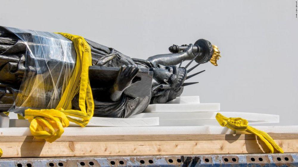 法国赠送美国的第二尊自由女神像将抵达纽约!