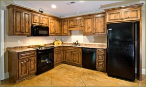 Knotty Alder Kitchen Cabinets We organize-U Prescott AZ