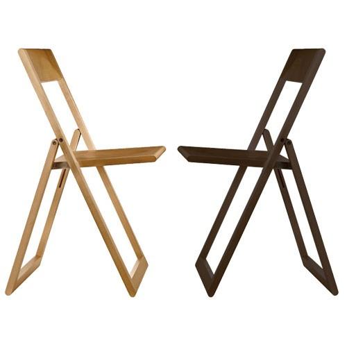 chaise pliante moderne associe design