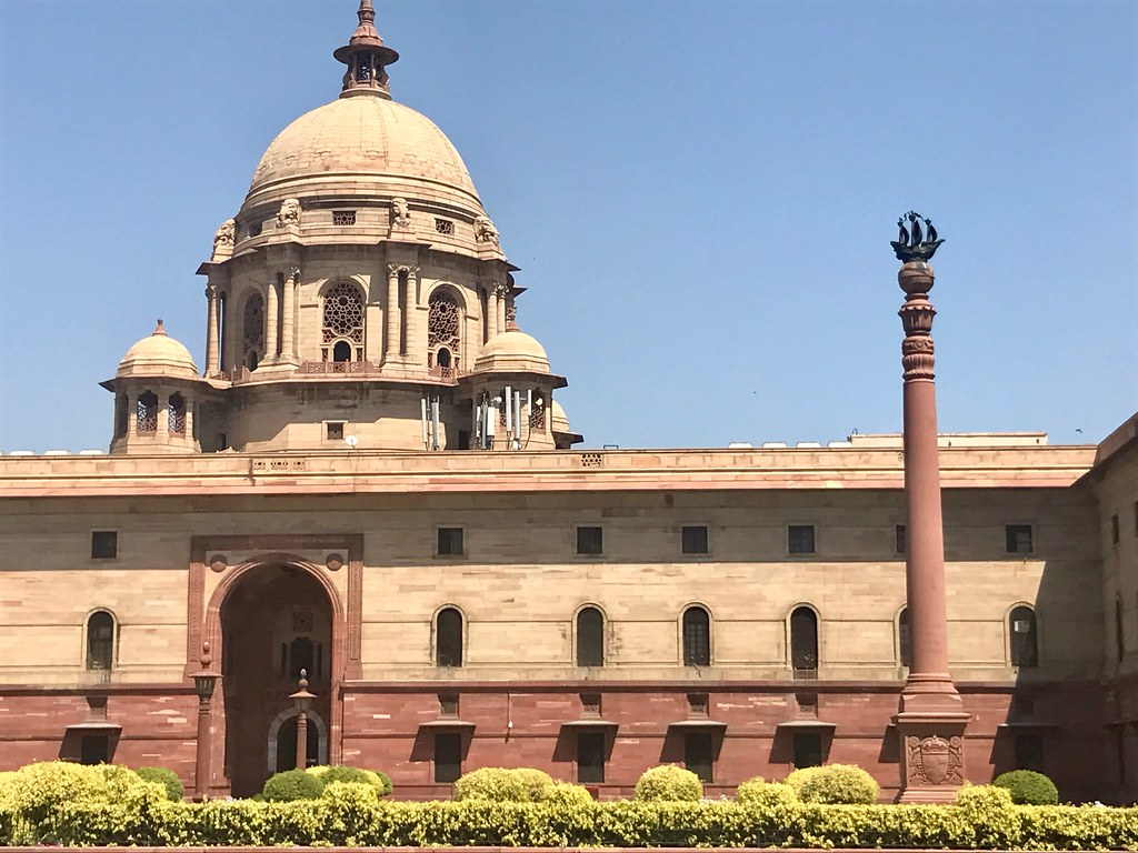 image showing indian parliament building when discussing cryptocurrencies