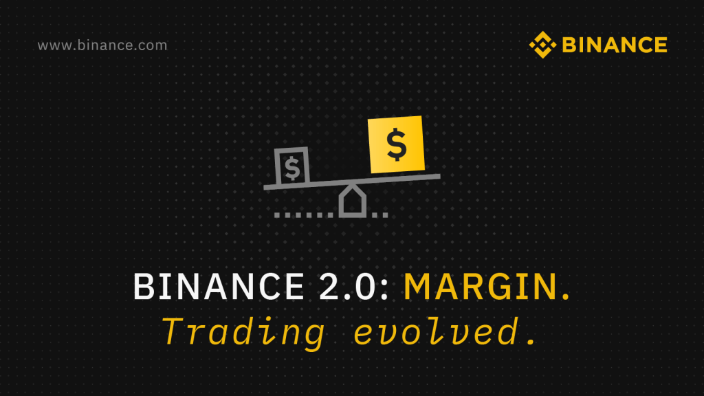 image showing the new Binance Margin Trading Platform.