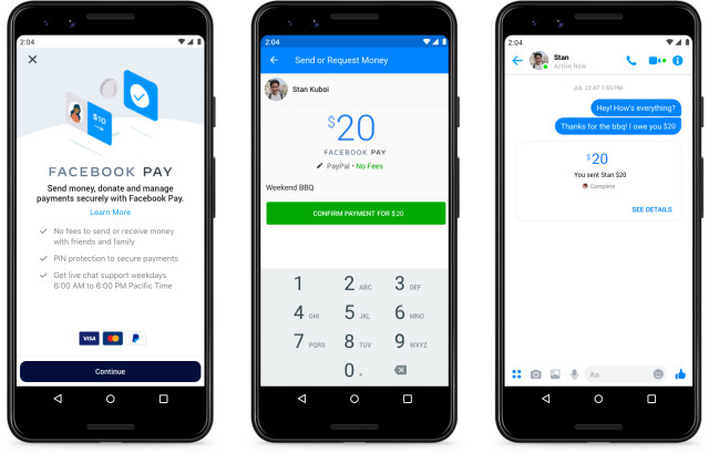 Facebook rolls out Facebook Pay after Libra problems