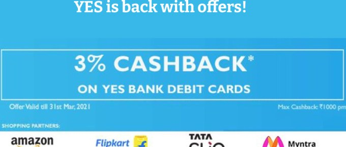 Yes Bank Debit Card Offers