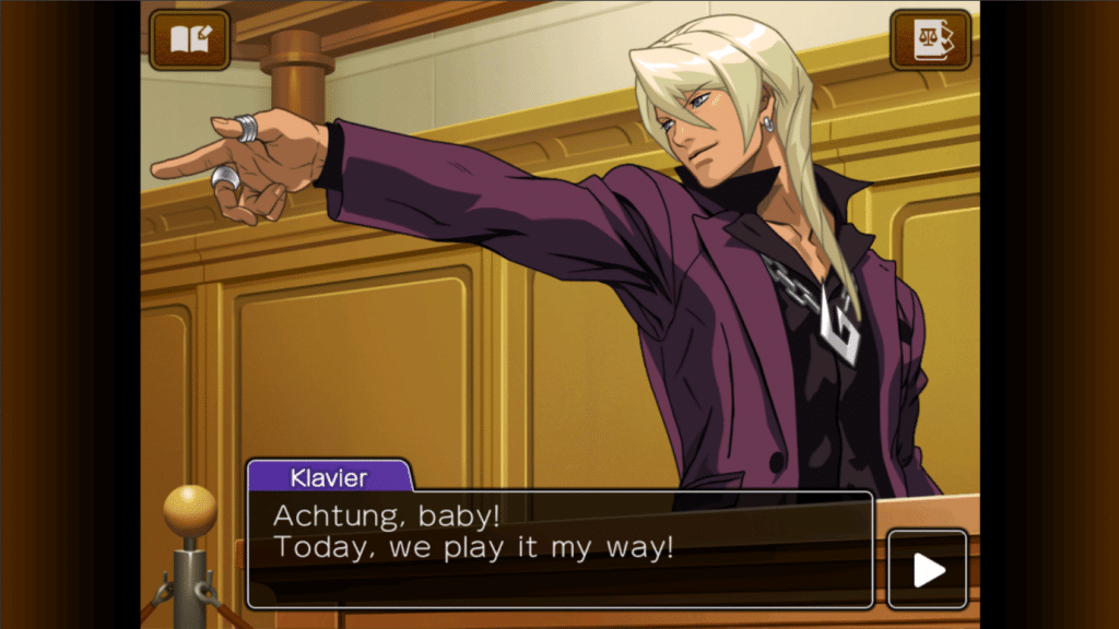 Retro Games are usually seen as pixel art games only, but Apollo Justice: Ace Attorney is about 15 years old