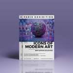 Flyer Exposition d'art by WePrint (2)