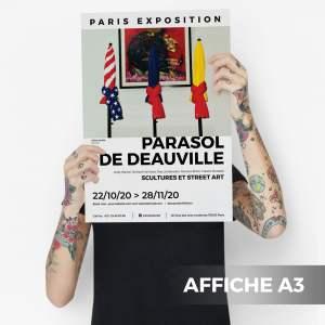 Affiche A3 Gallerie Exposition WePrint