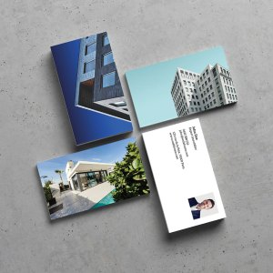 Carte de visite Agent immobilier by WePrint