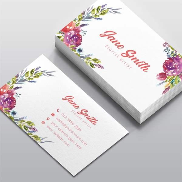 Carte de visite Fleuriste
