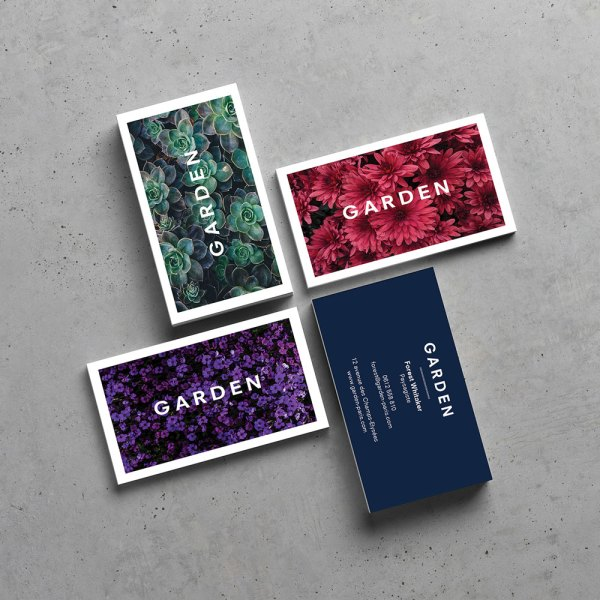 Carte de visite Garden - by WePrint