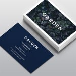 Carte de visite Garden by WePrint