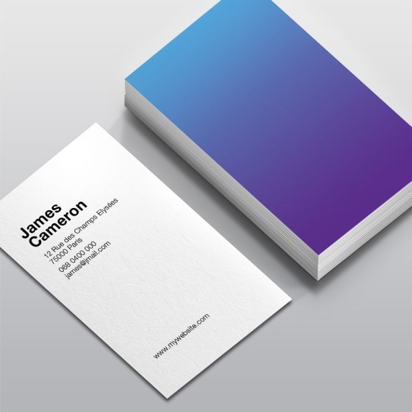 Carte de visite Gradient WePrint