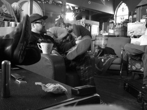Kicking back - Recording 'Call Me When You're Single' - January 6-13, 2011