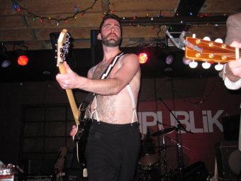 Shirtless Ryan Kelly - 'Call Me When You're Single' album release @ The Republik - Oct 6, 2011
