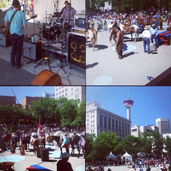 Olympic Plaza - Calgary Stampede - July 12, 2013
