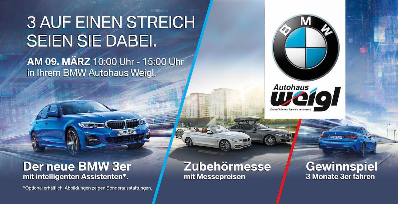 BMW Postkartenmailing