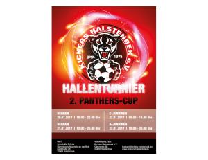 Kickers Halstenbek e.V. Poster 2. Panthers Cup - Werbeberatung Halstenbek | Werbeagentur für die Region