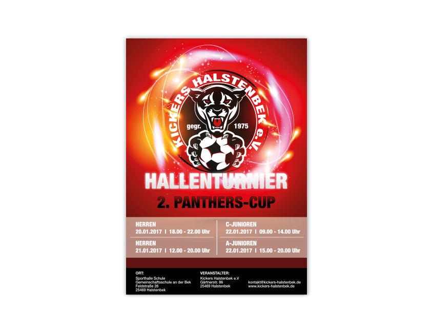 Kickers Halstenbek e.V. Poster - Werbeberatung Halstenbek | Werbeagentur für die Region