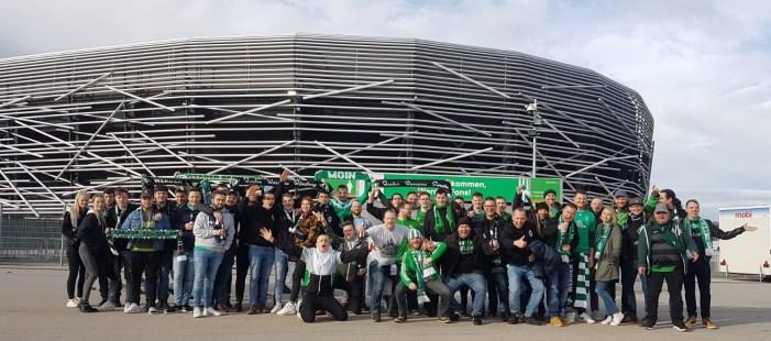 Die Werder Warriors auf Auswärtsfahrt in Augsburg