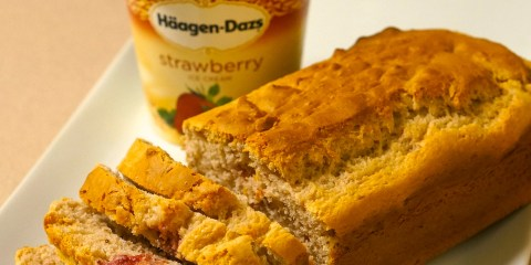strawberry-Ice-cream-bread-recipe