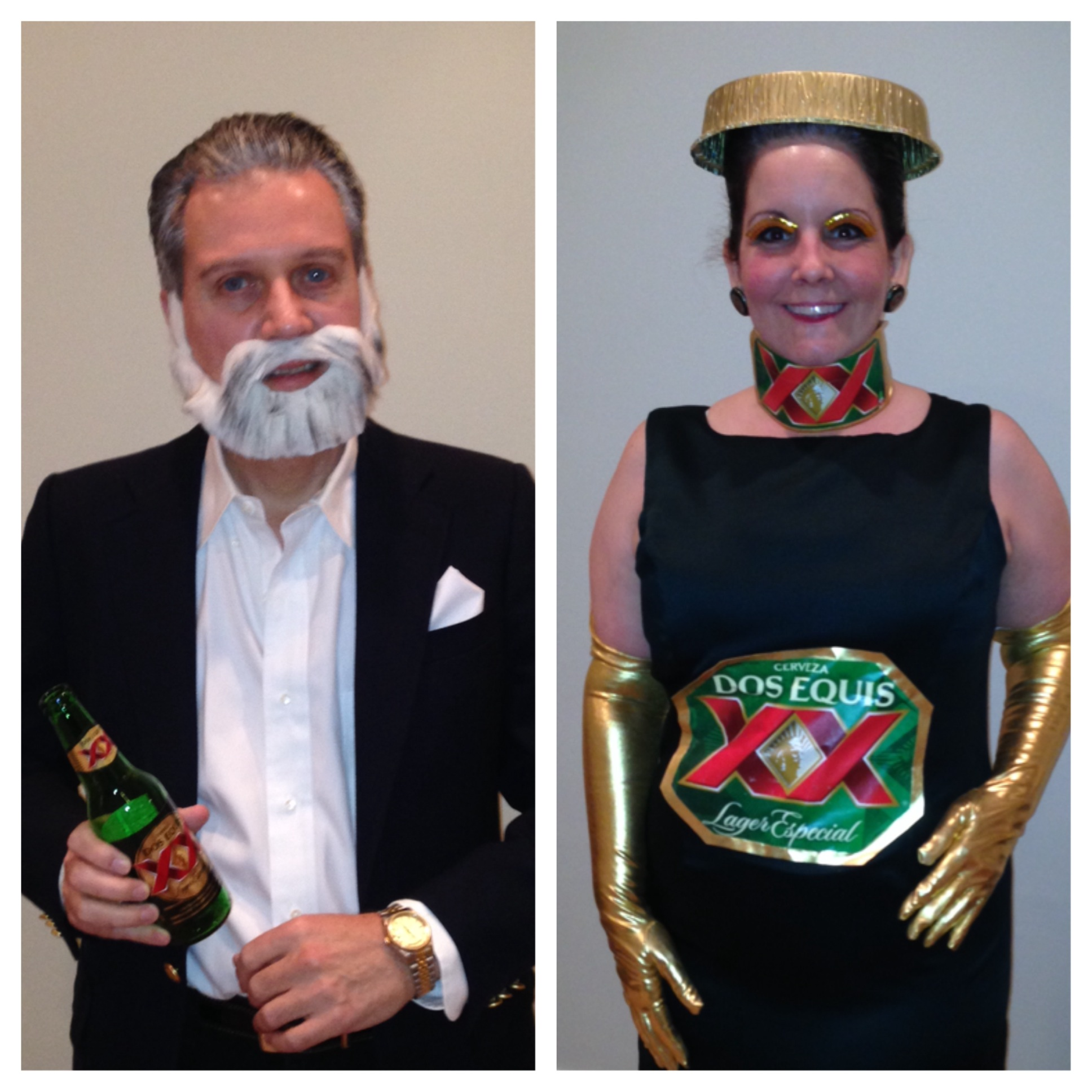 Dos Equis costume  sc 1 st  Weu0027re Calling Shenanigans & 10 Clever Last Minute Homemade Costumes - Weu0027re Calling Shenanigans