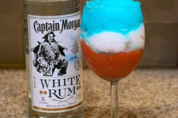 Red-white-and-blue-rum
