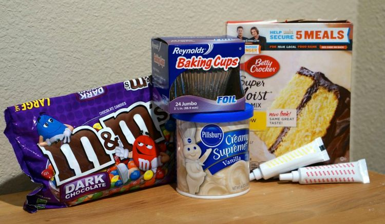 mandm pie cupcake ingredients