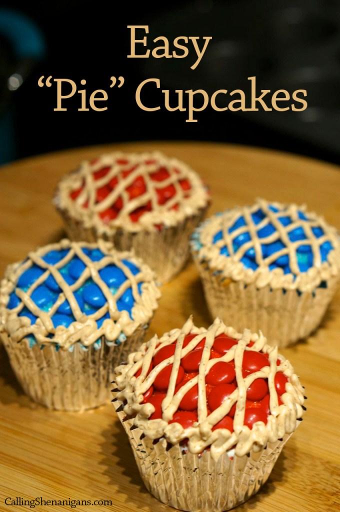 Cupcakes that look like pies