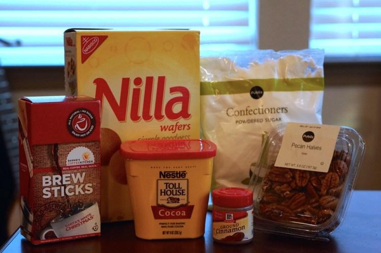 Coffee Truffle Cookie ingredients