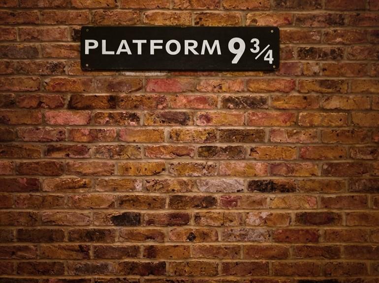 Platform 9 3/4 Harry Potter