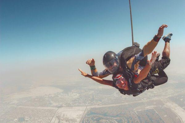 Met een skydive maak je je Dubai trip sowieso onvergetelijk!