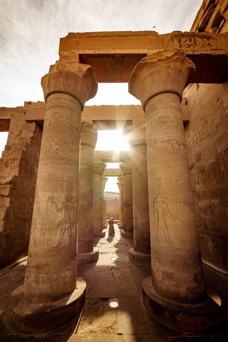 Luxor, Egypte. Eén van de must sees in Afrika