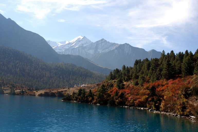 Shey Phoksundo nationale parken in Nepal