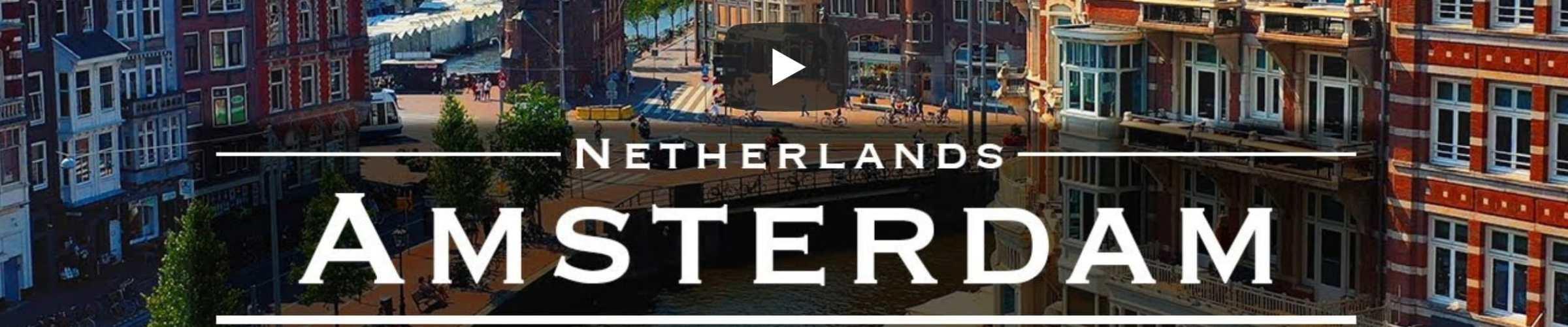 Amsterdam vanuit de lucht met een drone