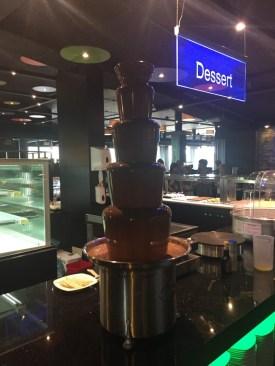 Dessert - Chocolade fontein