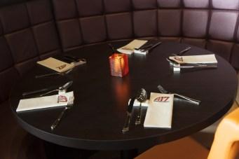 Tafel Wereldrestaurant A17