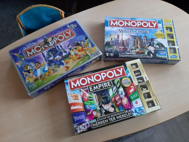 Monopoly bordspellen