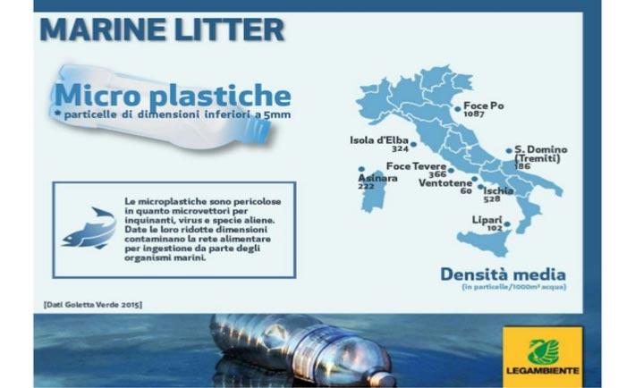 infografica legambiente plastic free sea