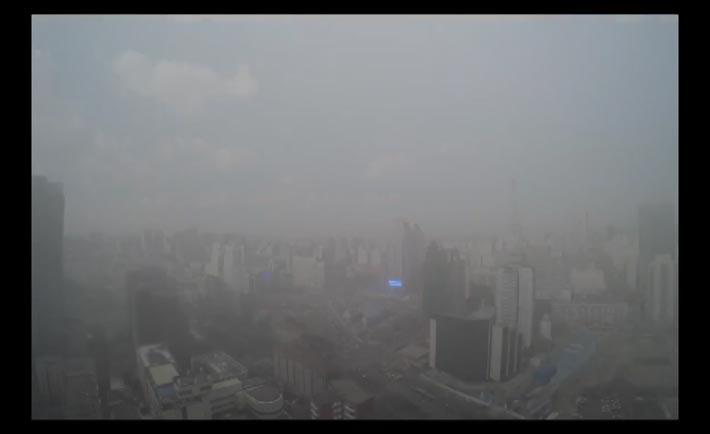 Nube smog su Pechino