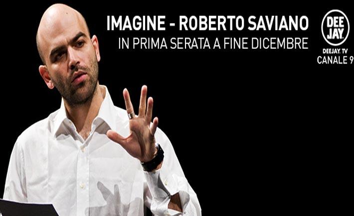 roberto saviano torna in tv su deejay tv