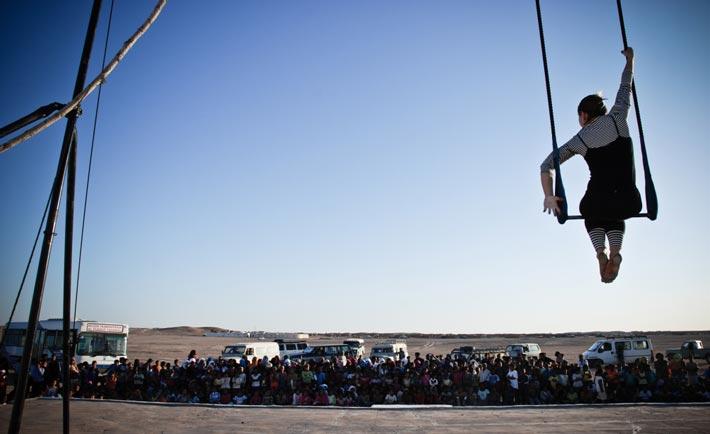 Il Circo InZir pronto a partire per l'Etiopia