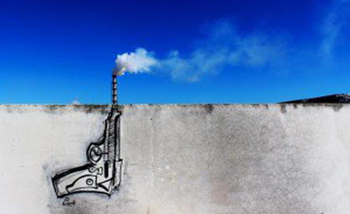 murales inquinamento tunisia