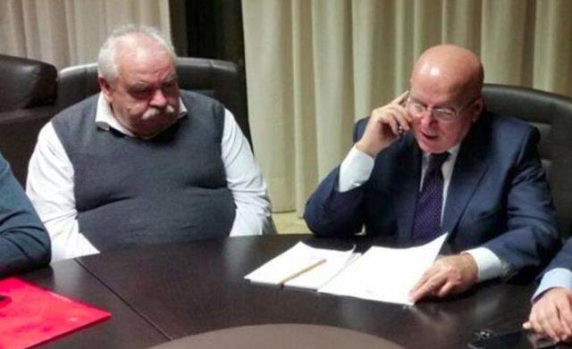 Pino Iannuzzi e Mario Oliverio