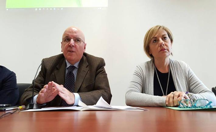 Mario Oliverio e Antonella Rizzo