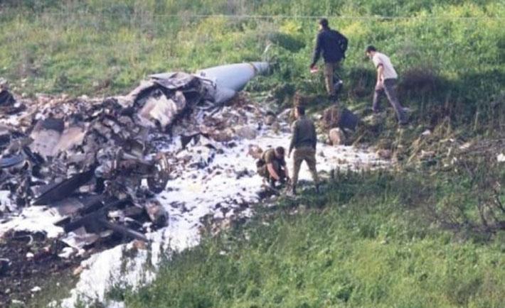 caccia israele abbattuto siria