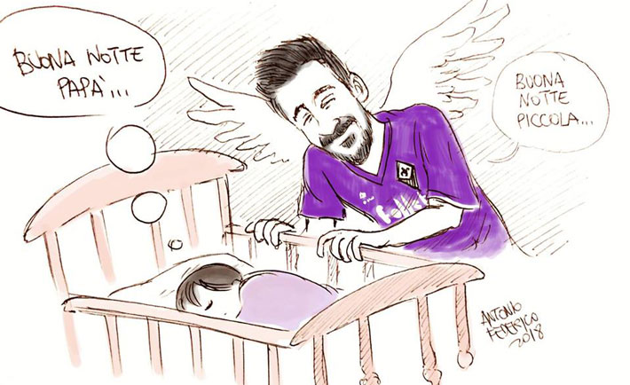 vignetta morte davide astori